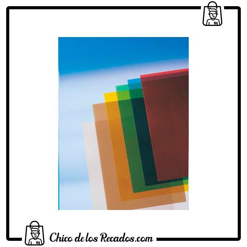 Cubiertas de encuadernación - Portada Pvc Transparente A4 180 Micras Verde (Cj.100) Gbc - GBC18