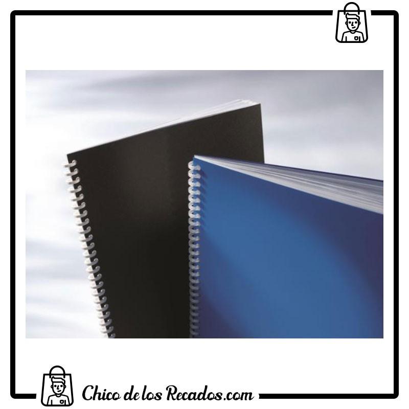 Cubiertas de encuadernación - Portada Pvc Opaco A4 180 Micras Azul (Cj.100) Gbc - GBC18