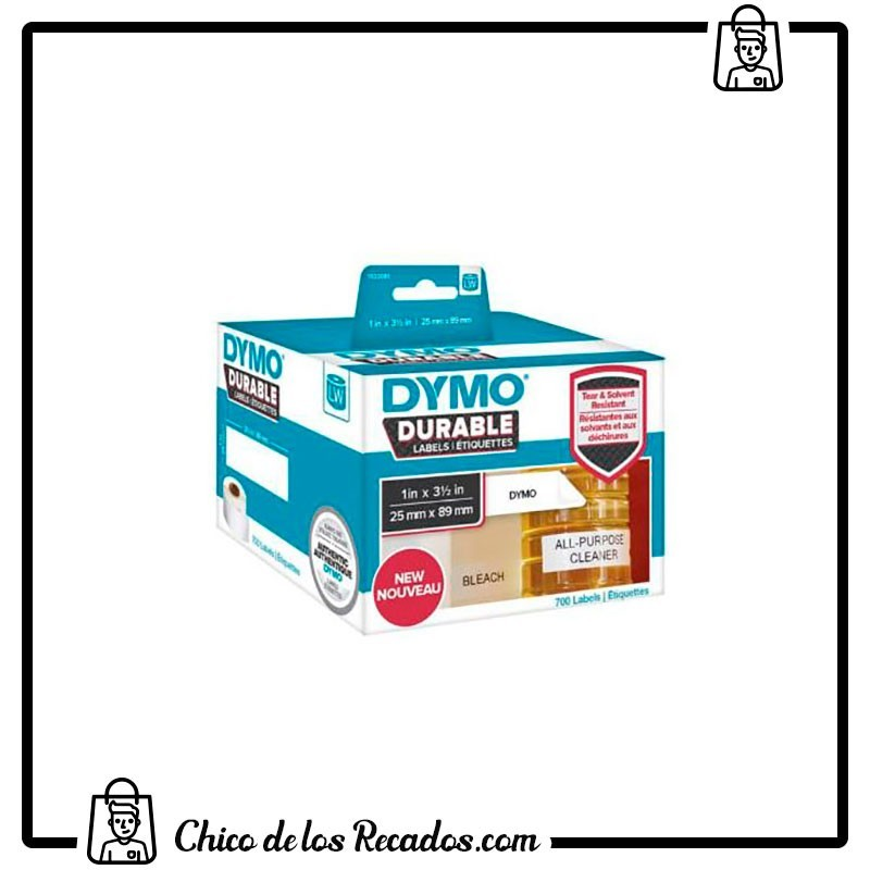 Cintas rotuladoras - Rollo Lw Durable 25Mmx89Mm Dymo - DYMO