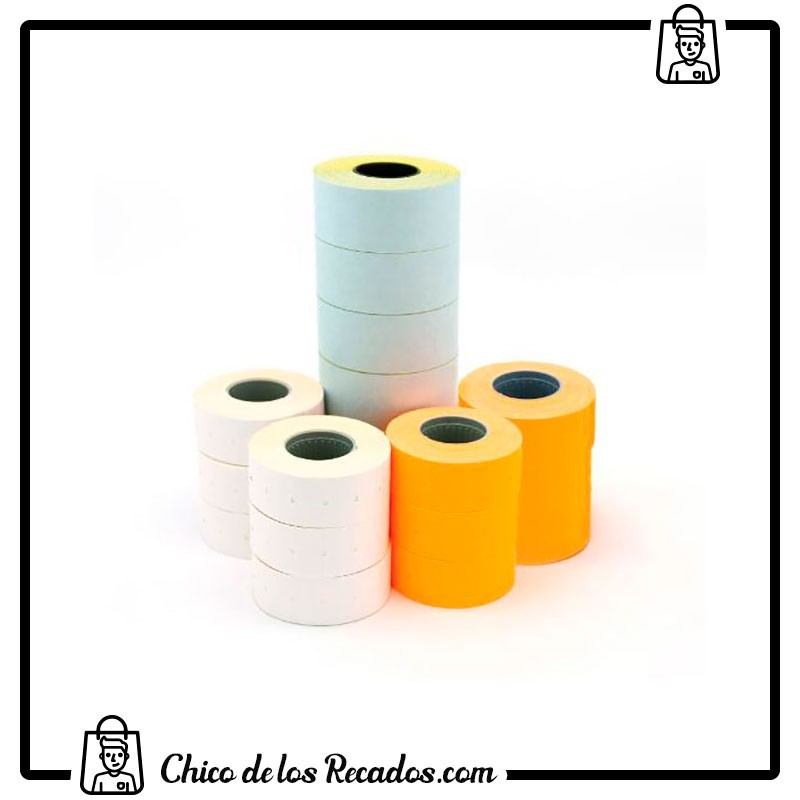 Etiquetadoras - Etiquetas Pack 6 R. 1000 Etq 26X16 R. Blco. Perm. Para Modelo 101419 Apli - APLI