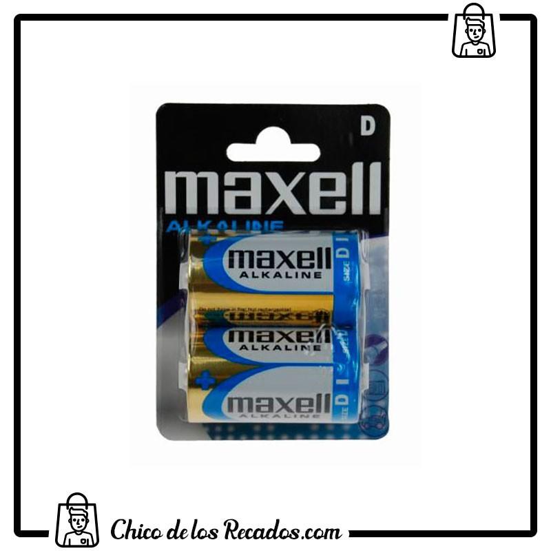 Pilas - Pilas Alcalilnas D (Lr20) Blister 2U. Maxell - MAXELL