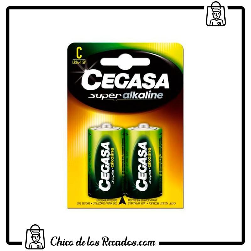 Pilas - Pilas Super Alcalinas Lr14-C Blister 2 Uds Cegasa - CEGASA