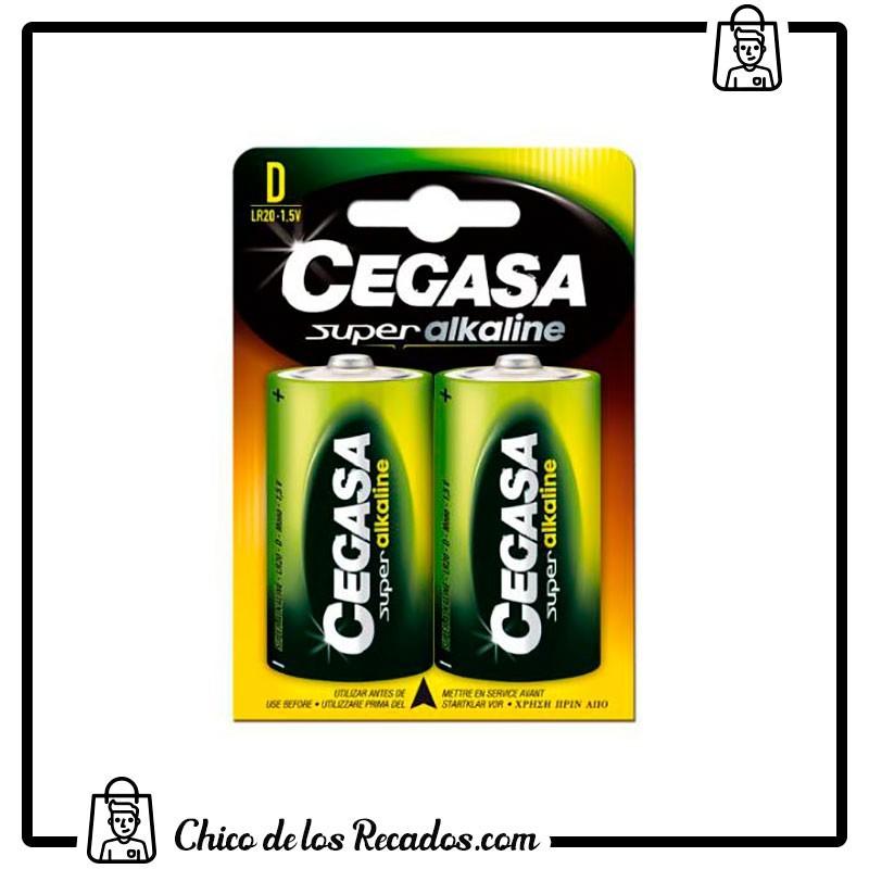 Pilas - Pilas Super Alcalinas Lr20-D Blister 2 Uds Cegasa - CEGASA