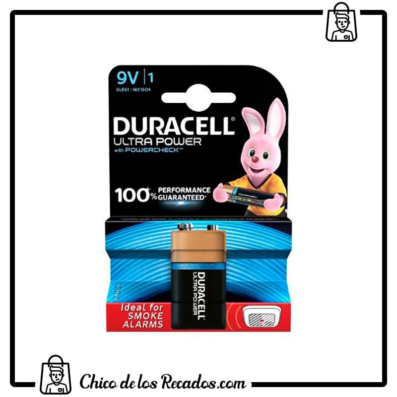 Pilas - Pilas Duracell Ultra Power 9V (6Lr61) Blister 1 - Duracell