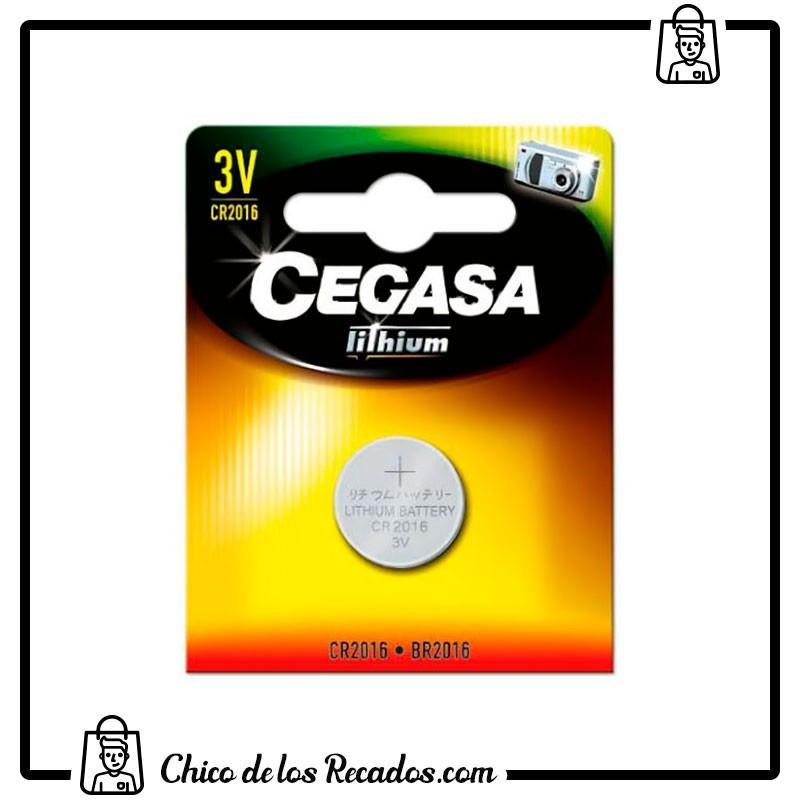 Pilas - Pilas De Litio Cr2016 3V Blister 1 Ud Cegasa - CEGASA
