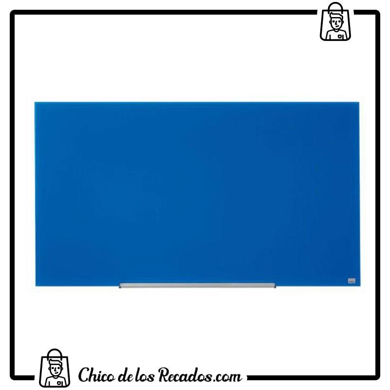"""Pizarras cristal - Pizarra Cristal 57"""" Azul Magnetica 1260X711Mm Nobo - Nobo18"""