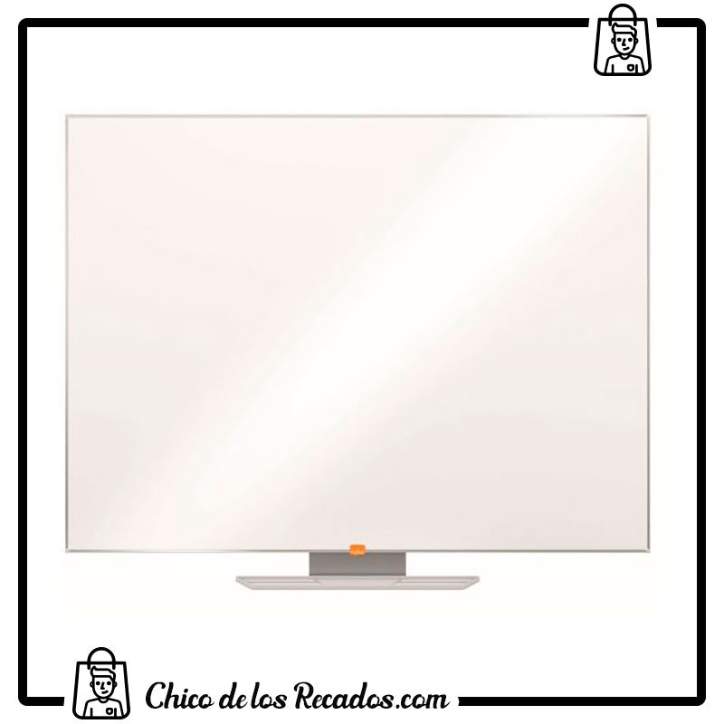 Pizarras murales - Pizarra Classic 2100X1200 Nano Clean™ Magnetica Lacada Blanca Nobo - Nobo18