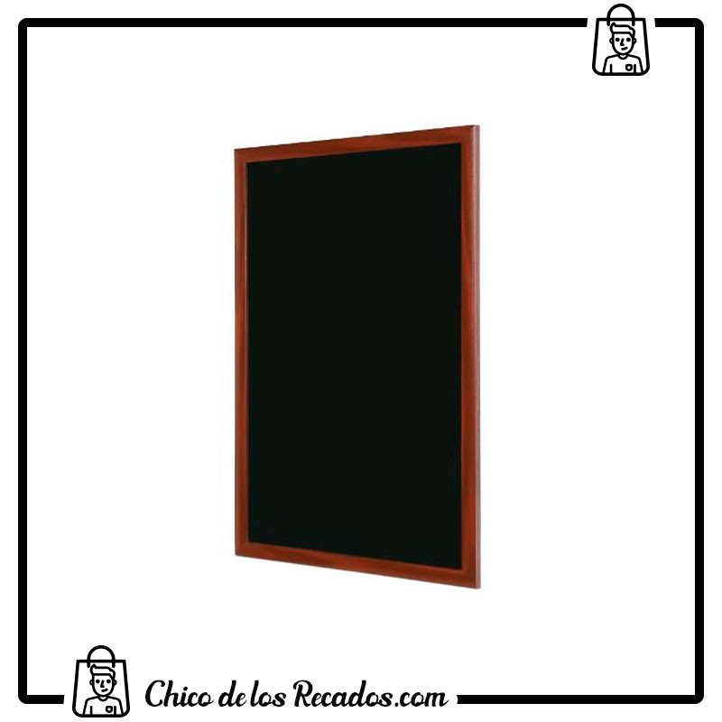 Pizarras negras - Pizarra Negra De Tiza 60X90Cm Rocada - ROCADA
