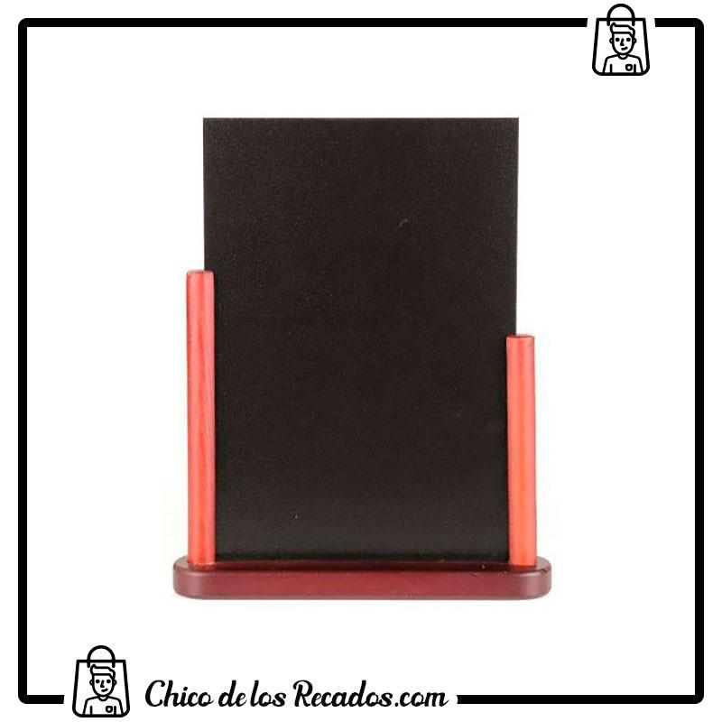 Pizarras negras - Pizarra Negra Sobremesa Doble Cara Para Rotulador Tiza Pz02 15X21Cm Liderpapel - ARTLINE