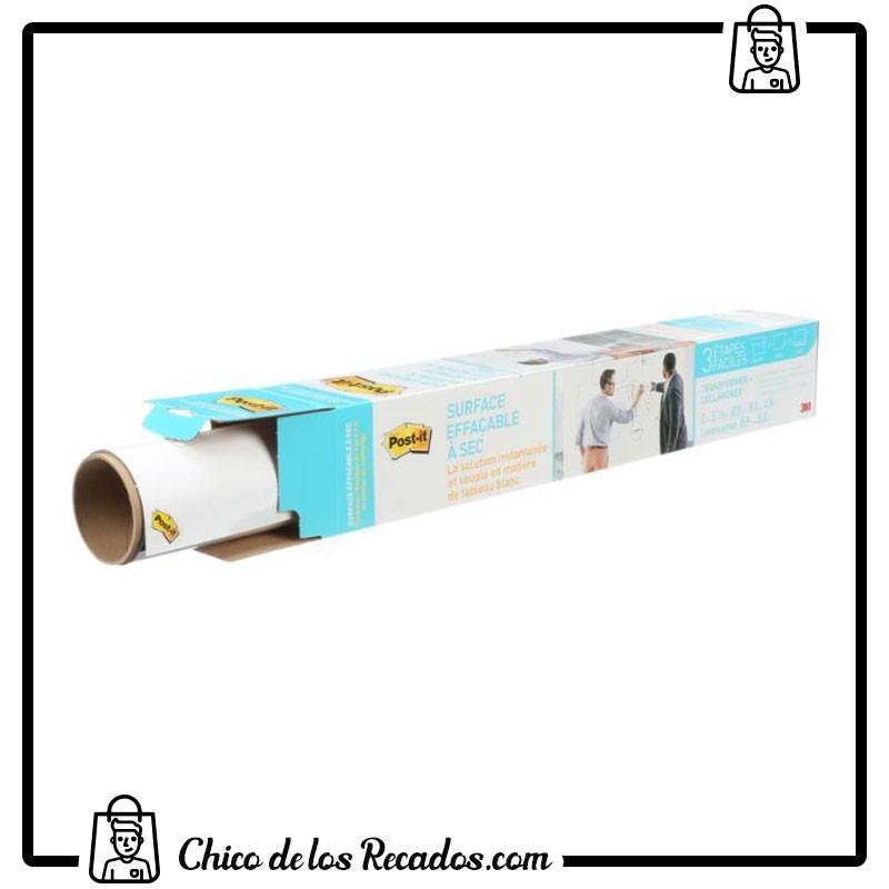 Pizarras enrollables - Post-It® Super Sticky Dry Erase Film Rollo 0,914X1,219M (7100134585) - POSTIT NOTAS