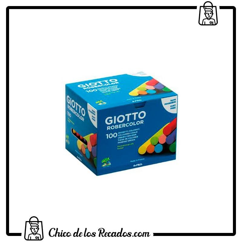 Tizas pizarra - Tiza Robercolor Colores Surt. Cj De 100 Giotto - GIOTTO