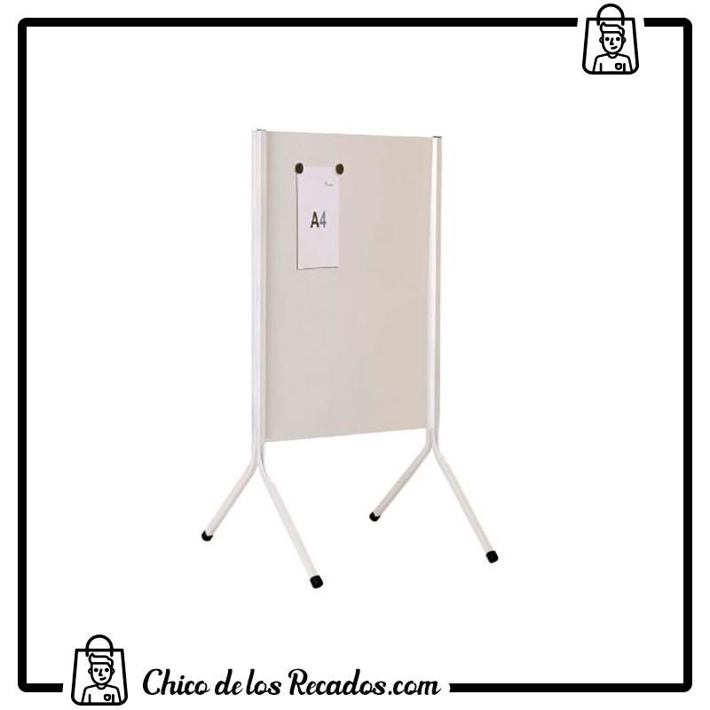 Caballete expositor - Soporte Informativo Doble Cara Blanca Lacada Dina1 Rocada - ROCADA