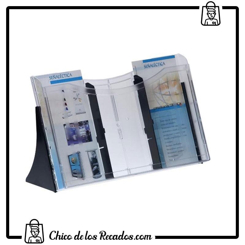 Expositores de sobremesa - Expositor Sobremesa Archi Simple A4 Transparente Horizontal Archivo 2000 - Archivo 2000