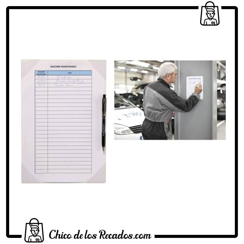 Paneles información de fundas - Fundas Porta-Notas Adhesiva Pvc Kang Easy Write A4 2 Uds. Tarifold - TARIFOLD
