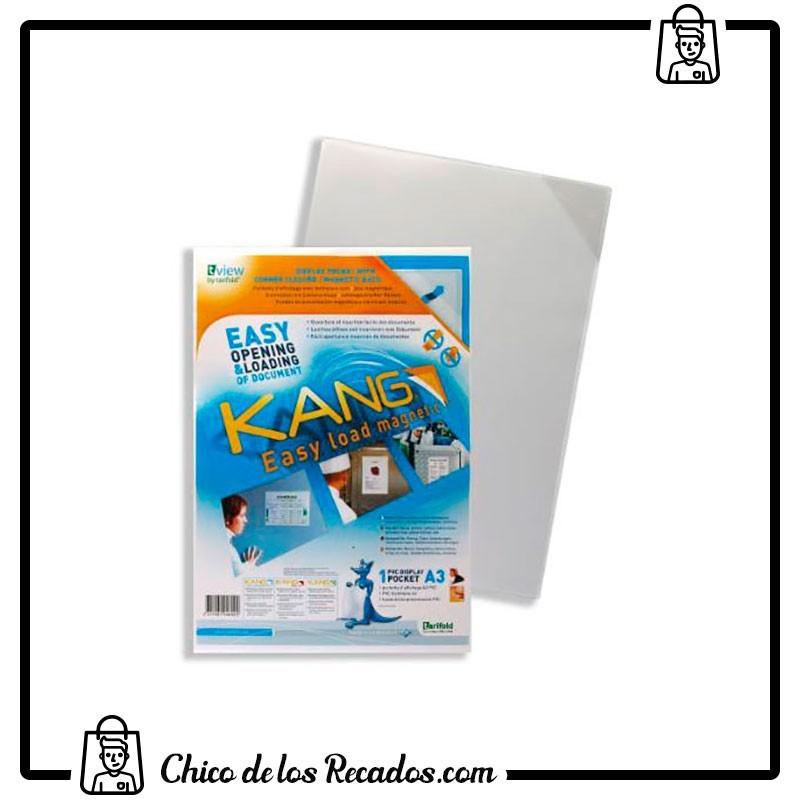 Paneles información de fundas - Fundas Kang Easy Load A3 Magnetica 1 Ud. Tarifold - TARIFOLD