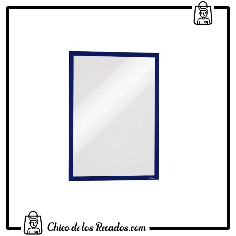 Paneles información de fundas - Marcos Autoadhesivos A3 Azul Osc.Panel Magnetico 2 Uds Durable - DURABLE