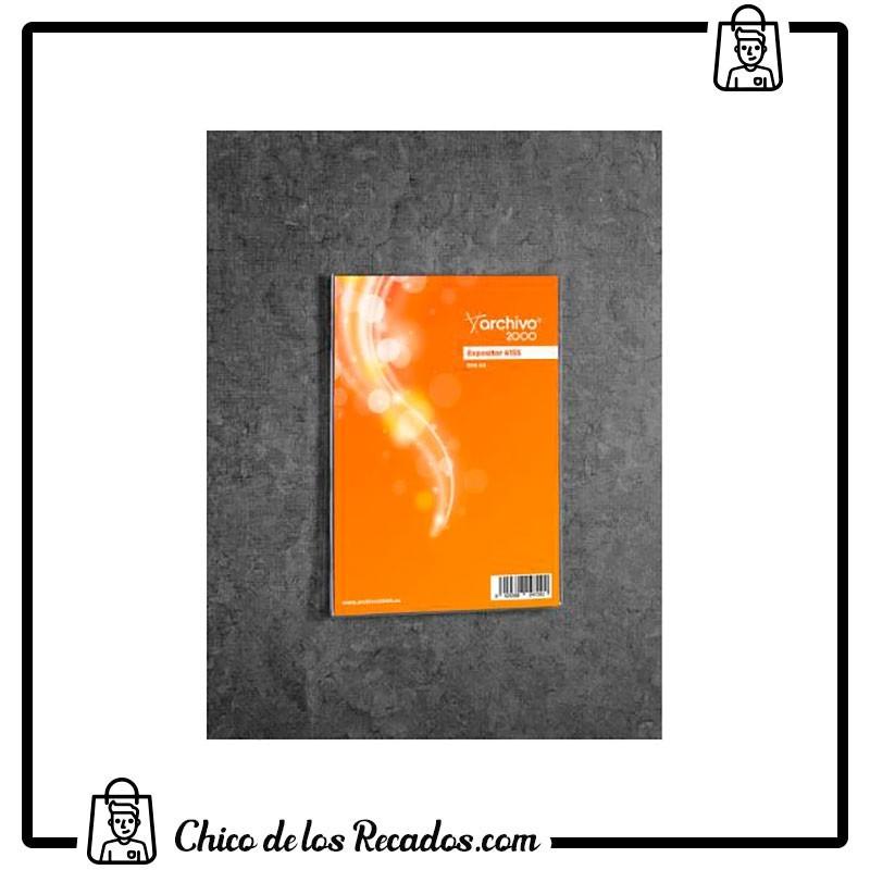 Portacarteles de pared - Rotulo Adhesivo Polipropileno Transp. A5 Mm Archivo 2000 - Archivo 2000