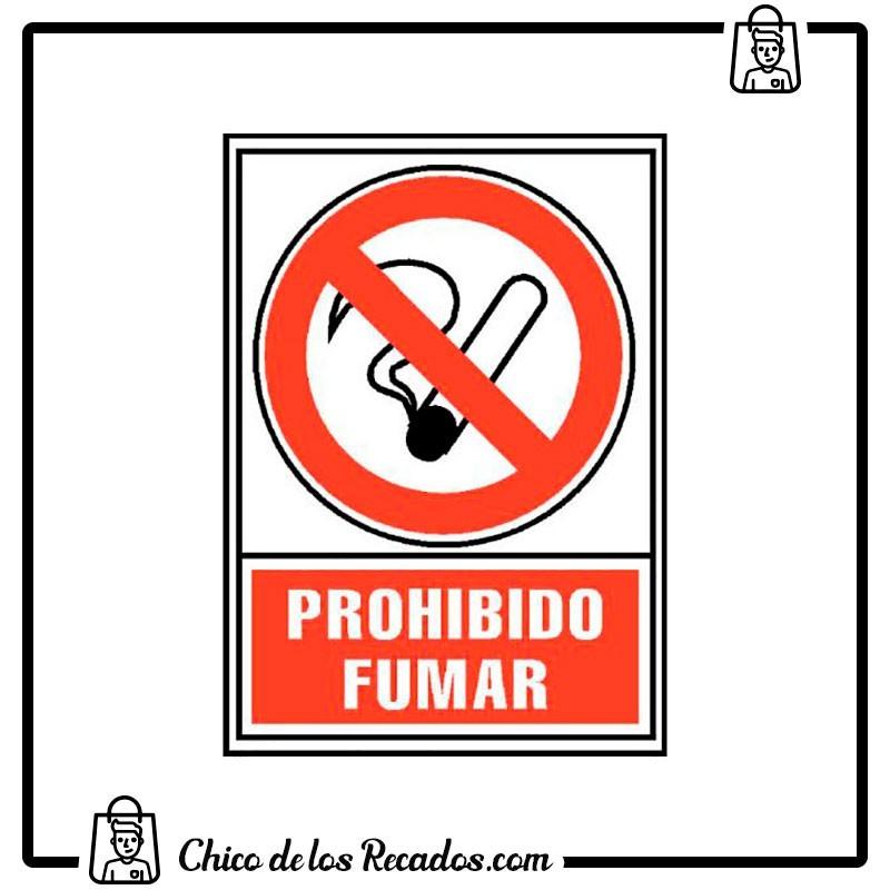 Placas normalizadas señalización - Placa Normalizada Pvc Prohibido Fumar 224X327 Archivo 2000 - Archivo 2000