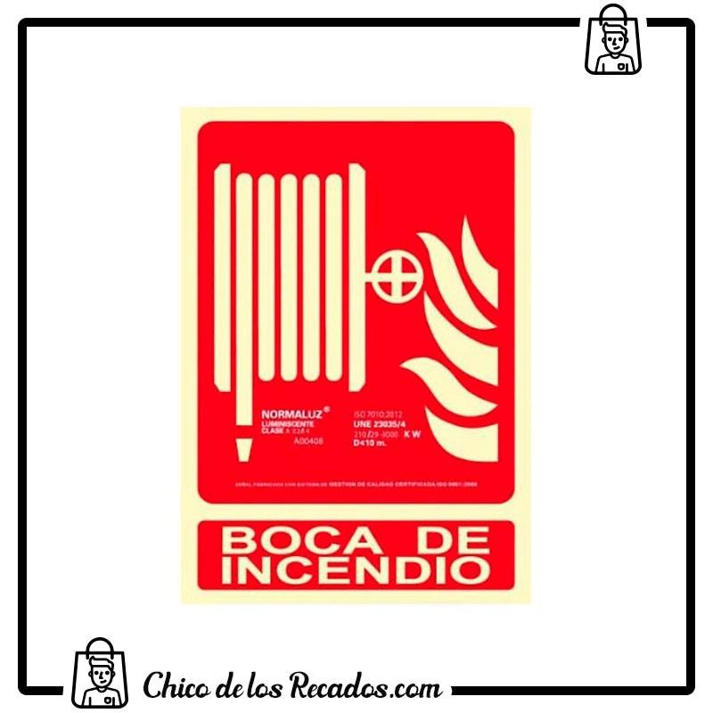 Placas normalizadas señalización - Placa Normalizada Pvc Boca De Incendio 210X300 Archivo 2001 - Archivo 2000