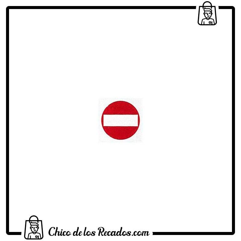 Pictogramas señalización - Etiqueta Señalizadora Prohibido El Paso 114X114Mm Apli - APLI