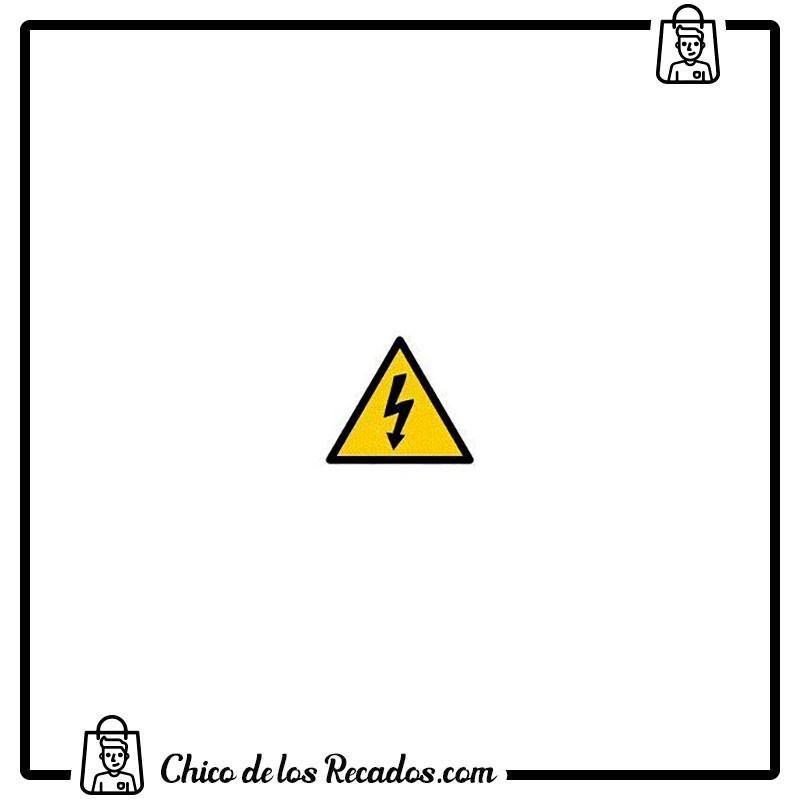 Pictogramas señalización - Etiqueta Señalizadora Riesgo Electrico 114X114Mm Apli - APLI