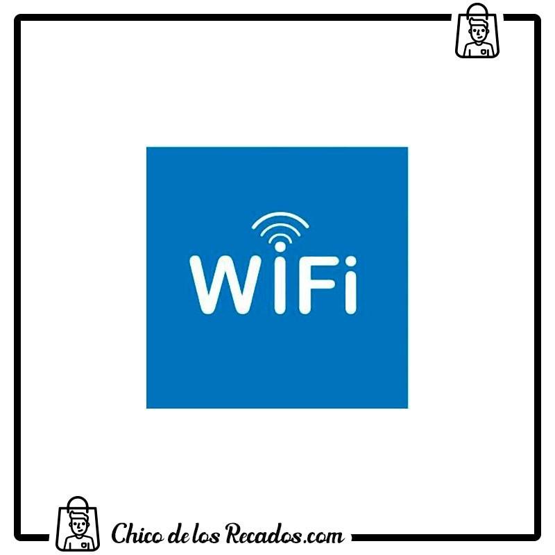 Pictogramas señalización - Etiqueta Señalizadora Zona Wifi 114X114Mm Apli - APLI