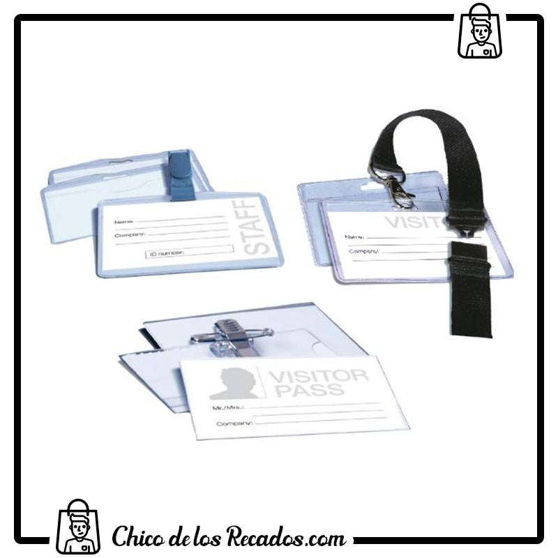 Portanombres de convención - Identificador Pinza PLÁSTICO 100X72Mm Apli - APLI