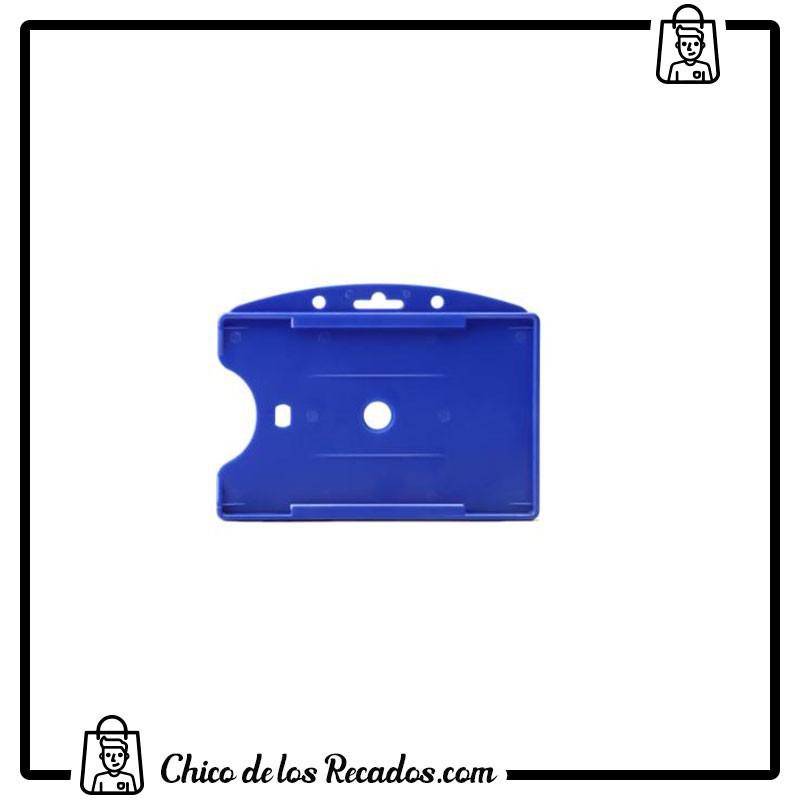 Portanombres de convención - Portatarjeta De Identificación Con Apertura Frontal Azul Tarifold - TARIFOLD