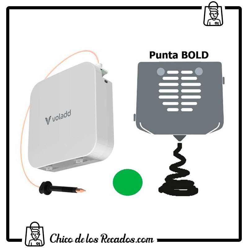 Impresoras 3D - Filamento + Boquilla 0,6 Voladd (Bold, Verde, 420G) - COLIDO