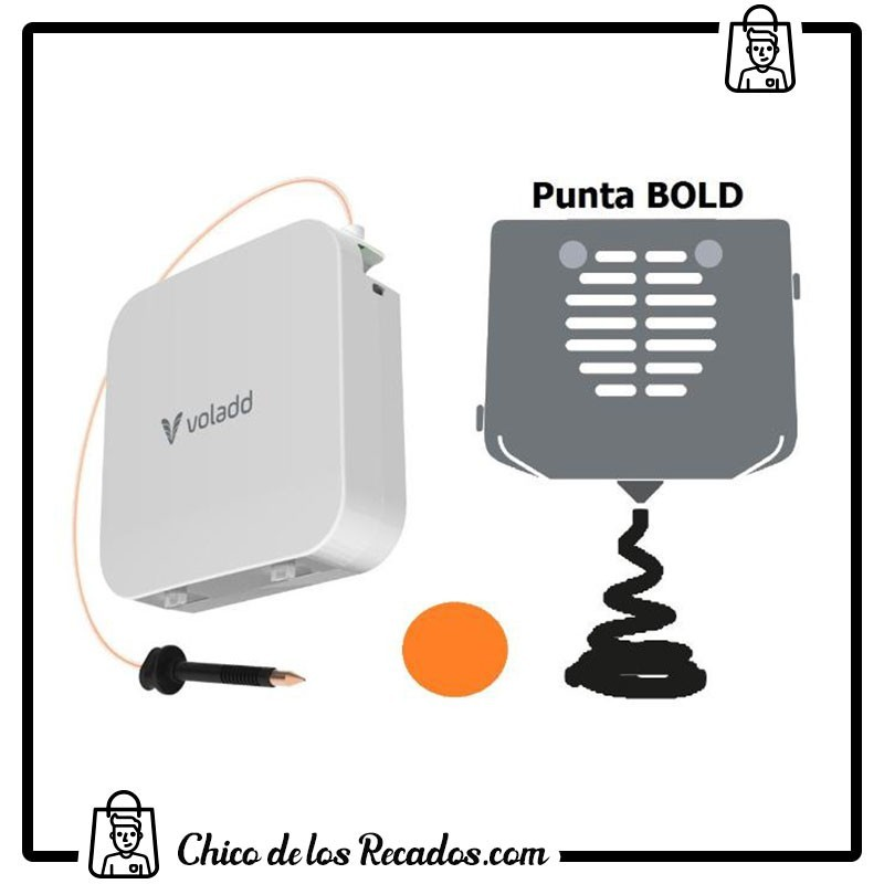 Impresoras 3D - Filamento + Boquilla 0,6 Voladd (Bold, Naranja, 420G) - COLIDO