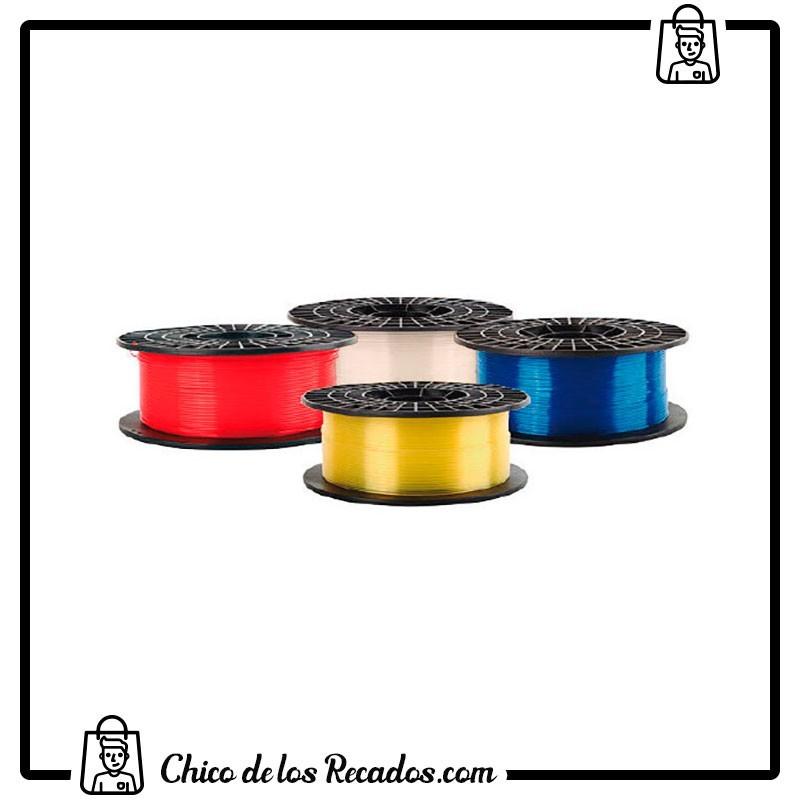 Impresoras 3D - 3D-Gold Filamento Translúcido-X Pla 1.75Mm 0,5 Kg Rojo Colido - COLIDO