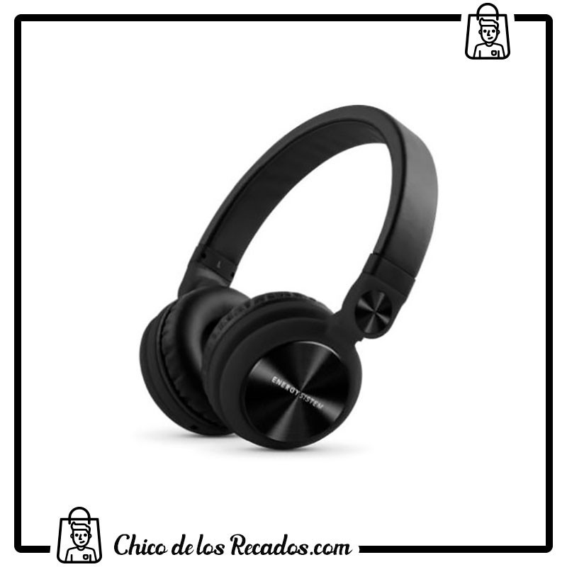 Auriculares - Auriculares Headphones Dj2 Black Mic Energy - ENERGY SISTEM