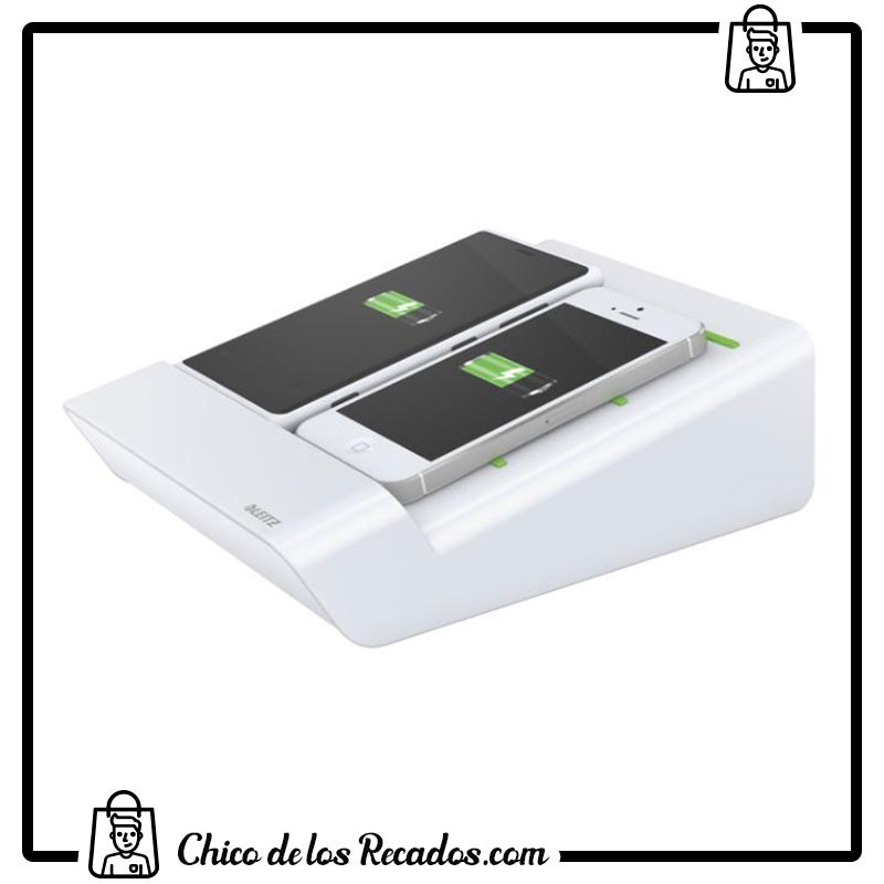 Accesorios para tabletas - smartphones - Cargador Duo Blanco Leitz - LEITZ