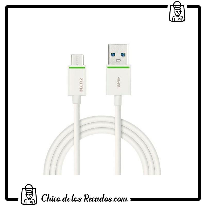 Accesorios para tabletas - smartphones - Cable Usb-C A Usb-A 3,1. Carga Y Transmite Datos. 1M Leitz - LEITZ