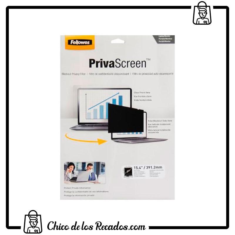 """Filtros pantalla ordenador - Filtro De Privacidad Privascreen™ Pantalla Panorámica 15.4"""" - 16:10 - FELLOWES"""