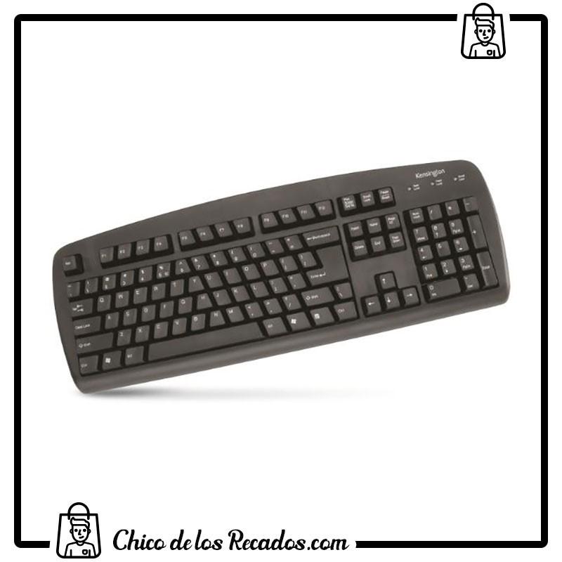 Teclados ordenador - Teclado Value Keyboard Negro Usb/Ps2 Kensigton - KENSINGTON