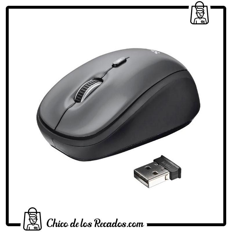 Ratones ordenador - Ratón Óptico Inalámbrico Yvi Trust - TRUST