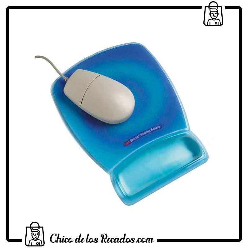 Alfombrillas ratón y reposamuñecas - Alfombrilla C/Reposamuñecas Gel Precision Azul 3M (70071080785) - 3M