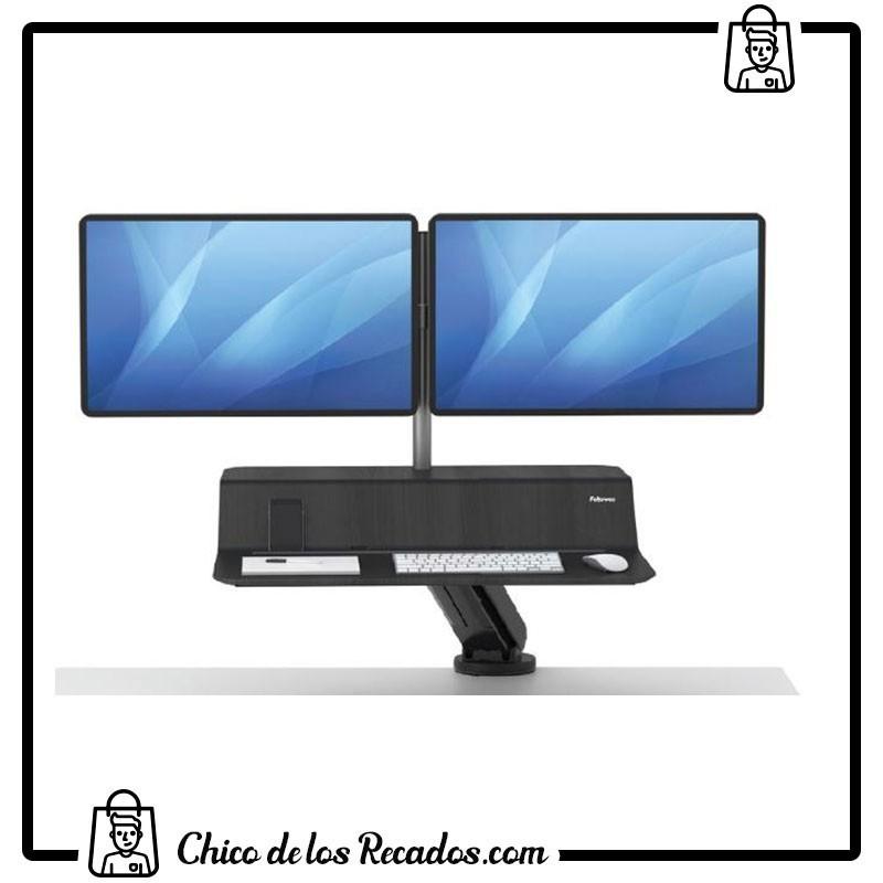 Soportes pantalla monitor - Estación De Trabajo Sit Stand Lotus™ Rt. 1 Monitor. Color Negro - FELLOWES