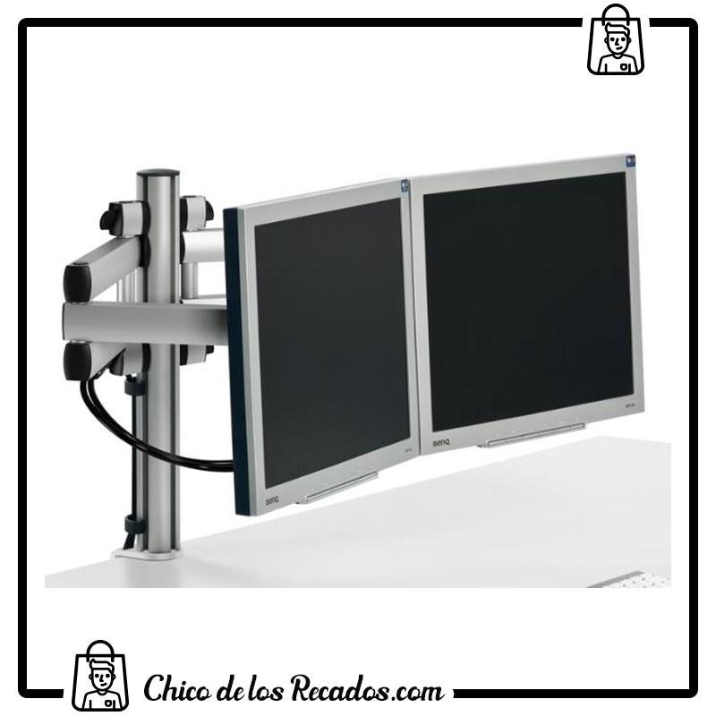 Brazos pantalla monitor - Columna Tss De 445Mm De 4 Railes Con Sujecion A La Mesa Tipo Mordaza Novus - NOVUS