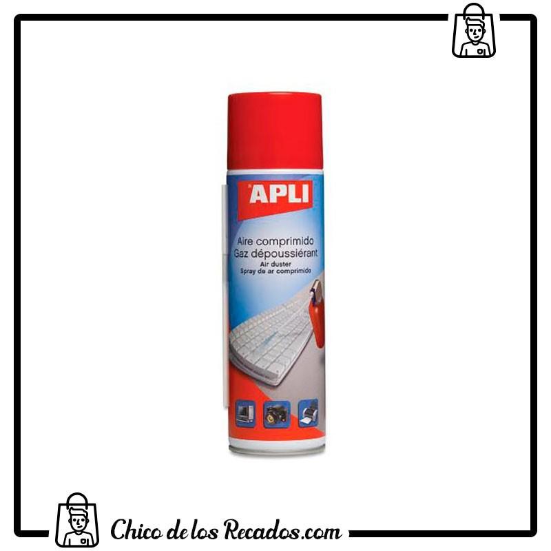 Limpieza ordenador - Spray Aire Comprimido Normal 400 Ml Apli - APLI