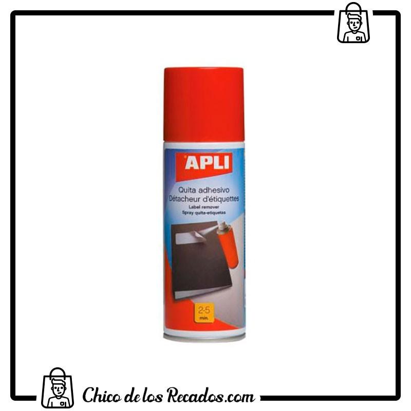 Limpieza ordenador - Spray Quita Adhesivo 200Ml Apli - APLI