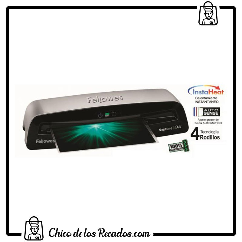 Plastificadoras de calor - Plastificadora Neptune3 A3 Fellowes - FELLOWES
