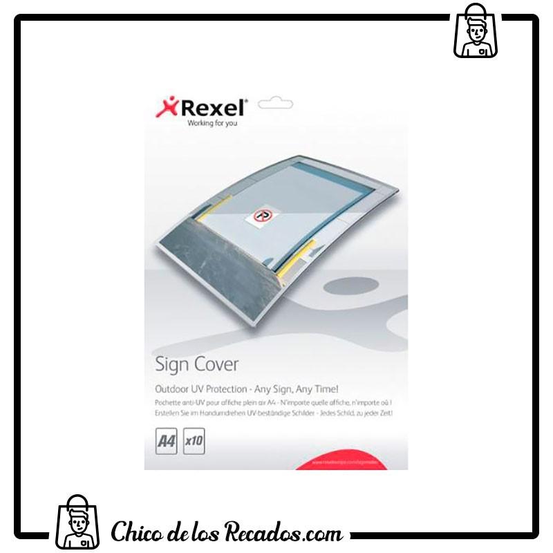 Accesorios plastificación - Carteras Rexel Signmaker Estándar Brillo A4 (Pack 10) - Rexel18