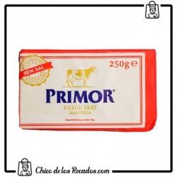 Mantequilla y Margarina - Mantequilla sin Sal 250g - Primor - Primor