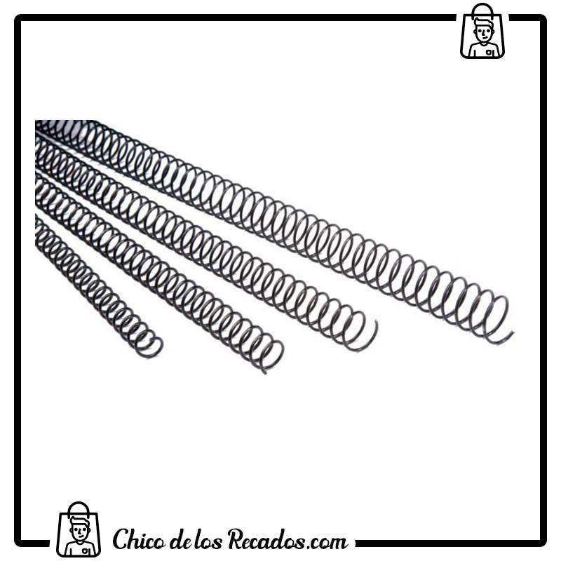 Accesorios encuadernación espiral metálica - Espiral Metalica 14Mm Blancas (Caja 100) Paso 5:1 Gbc - GBC18